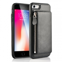iPhone 6/6S Wallet Case, LAMEEKU Shockproof Slim Leather Card Holder Case with Detachable Credit Card Pockets, Protective Kickstand Cover for Apple