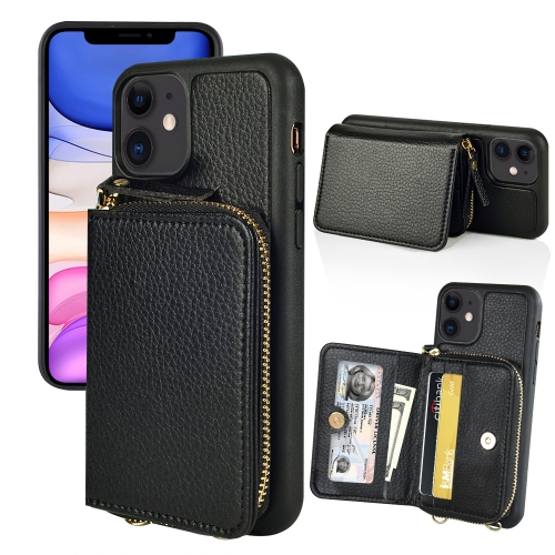 LAMEEKU iPhone 11 Wallet Case, iPhone 11 Case with Card Holder, iPhone 11 Leather Case 6.1""